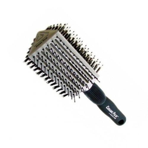 מברשת שיער קרמית משולשת